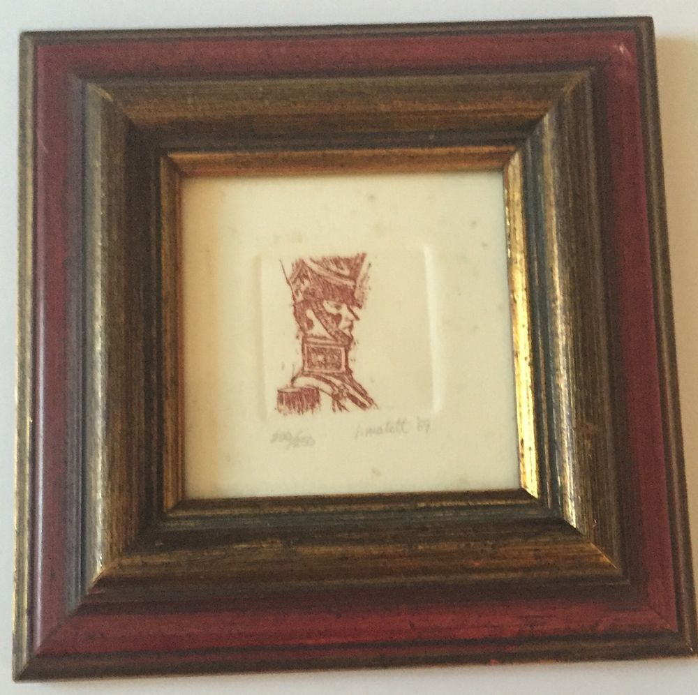 Jack Matott Etching The Steadfast Tin Soldier Number Signed Framed ...