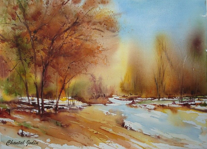Epingle Par What A Wonderful World Sur Watercolor Landscapes