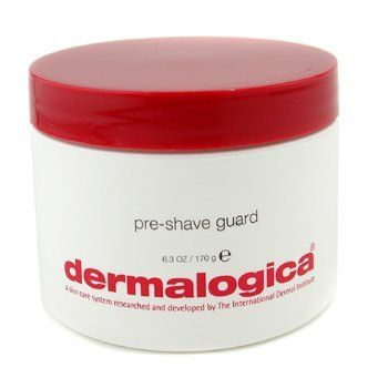 Dermalogica Pre-Shave Guard 6.3 oz by Dermalogica. $41.45. 170g/6.3oz. Safeguard to soften stubble trouble. Heavy, tough beards require extra prepping that maximizes beard softening without the high-alkaline ingredients that can aggravate and dry skin. This formula does just that, while shielding and prepping skin for shaving with Soothing Shave Cream to help minimize razor burn and bumps. Contains no artificial fragrance or color. For use only underneath Soothing Shave ...
