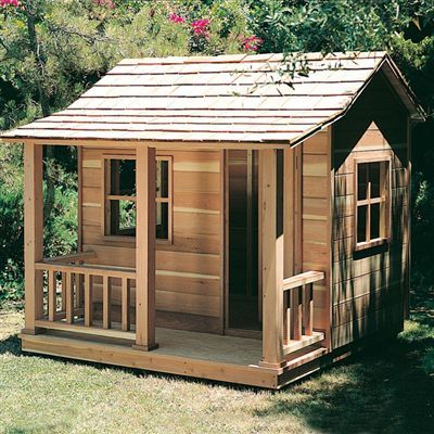 Buy Woodworking Project Paper Plan To Build Playhouse At Woodcraft.com