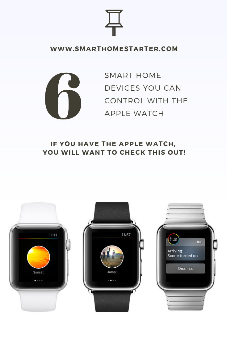 There Are Literally Thousands Of Smart Watch Apps Out There We Take A Look At 6 Made For Your Smart Home Tips Trick Smart Home Apple Watch Best Smart Home