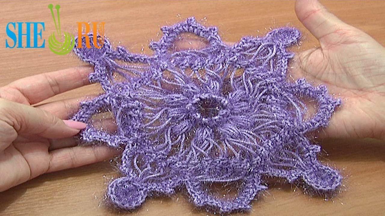 ажурное вязание на вилке