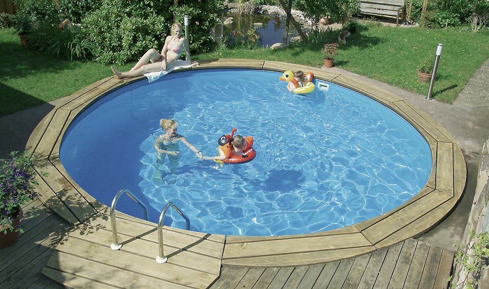 Kinderpool Kinderbecken Selber Bauen Wasserspass Fur Die Kinder Pool Badelaune Kinderbecken Aussenpool Pool Selber Bauen