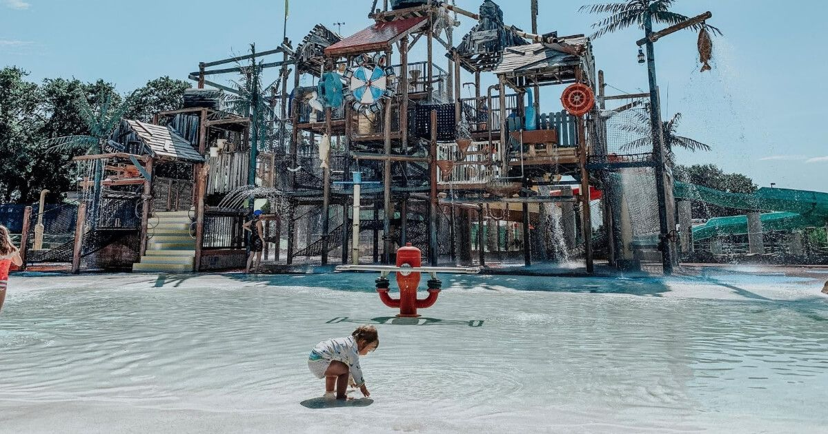Toddler Playing At Hurricane Harbor Six Flags Over Texas In Arlington Texas Hong Kong Travel Nightlife Travel Hurricane Harbor