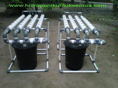 How To Make A Hydroponic System Using Pvc Pipe For