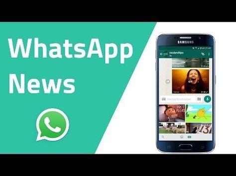 Whatsapp Neuigkeiten