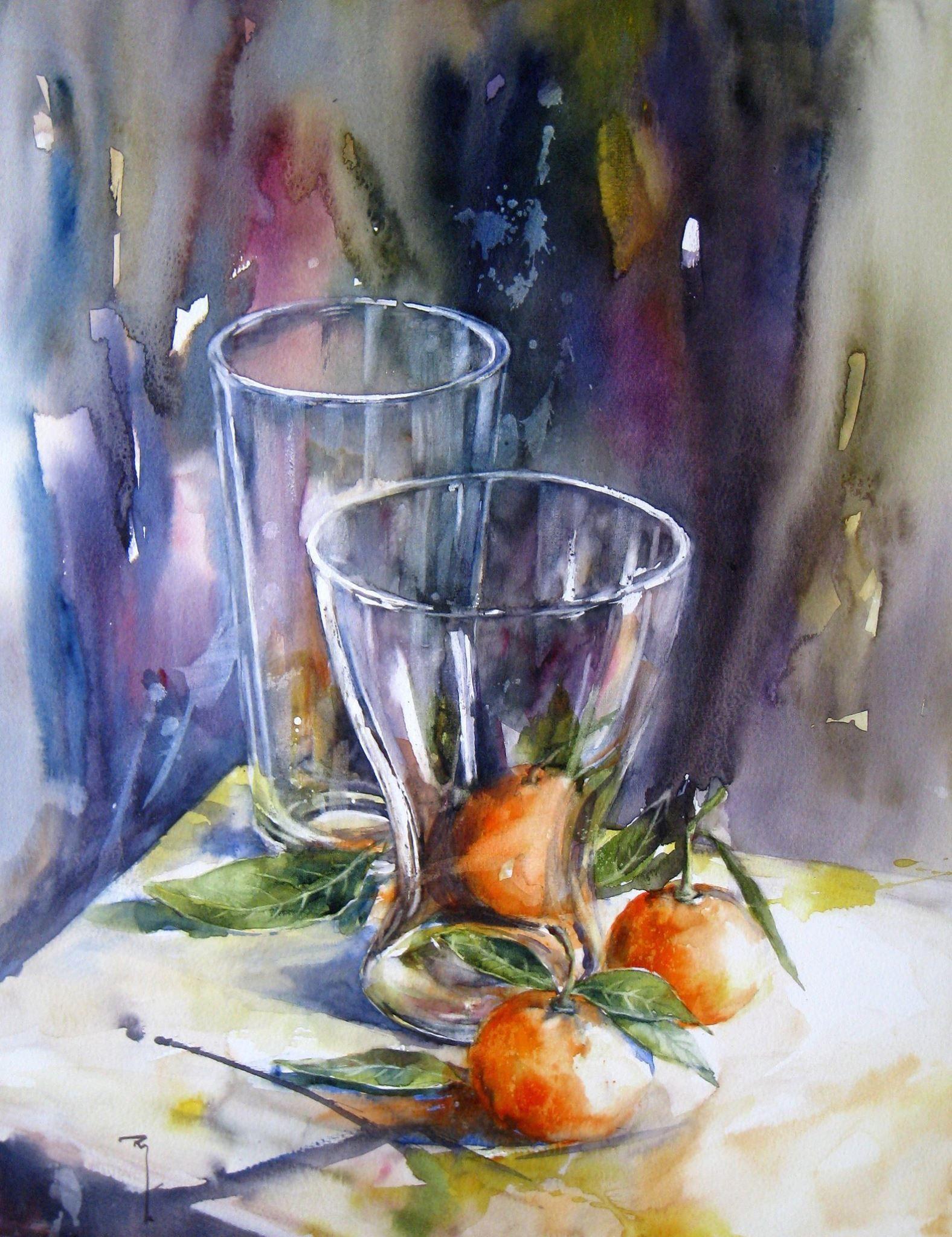 Catherine Rey Avec Images Peintures A L Aquarelle Faciles