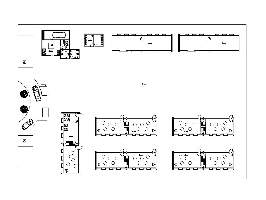 Top View Of 20x5m Architectural Kinder Garden Is Given In This Autocad Drawing File The Height Of The Building Up To Wate Autocad Drawing Autocad Kindergarden
