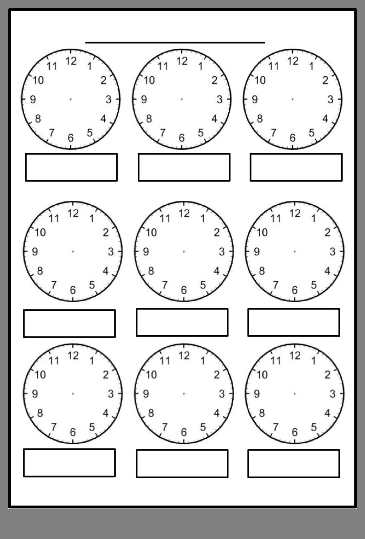 Pin by Zonika Strauss on Pomysły   Clock worksheets [ 1108 x 750 Pixel ]