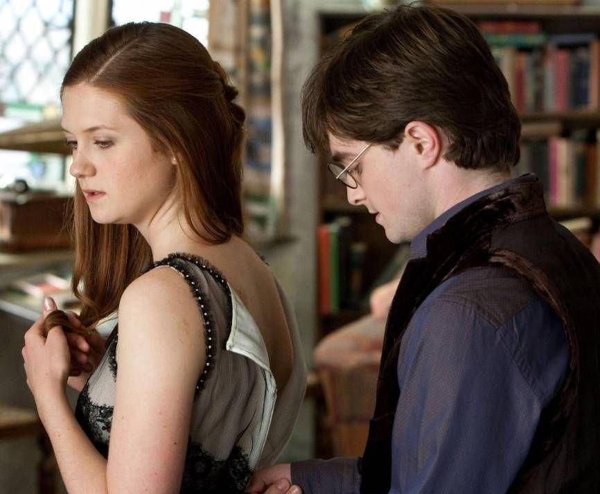 The Craziest Harry Potter Fan Theories That Could Be True Harry Potter Ginny Weasley Harry Potter Ginny Harry And Ginny