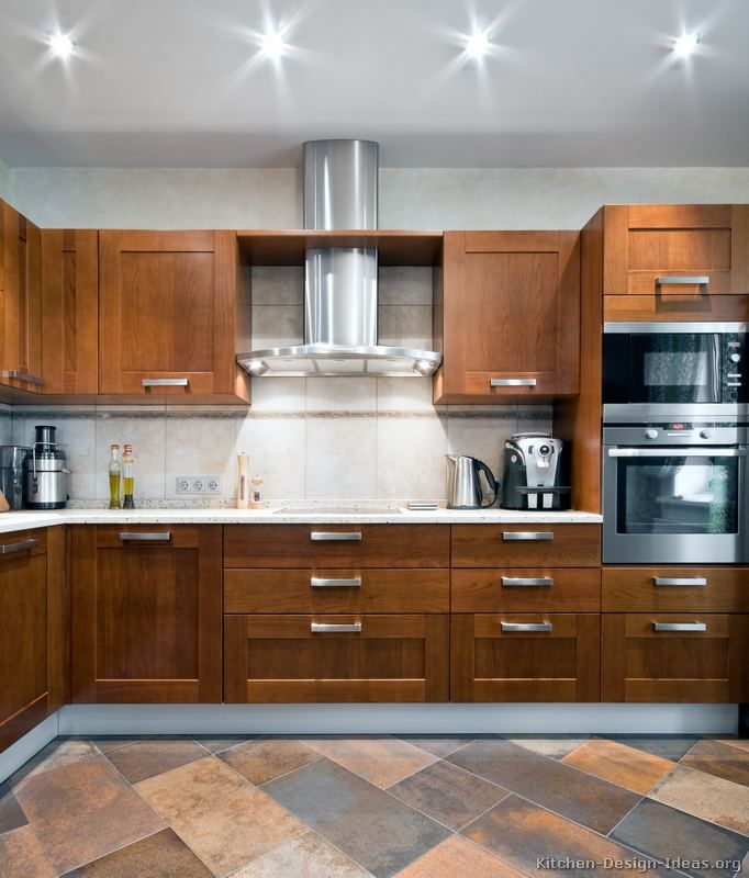 Pictures Of Kitchens Modern Medium Wood Kitchen Cabinets Page