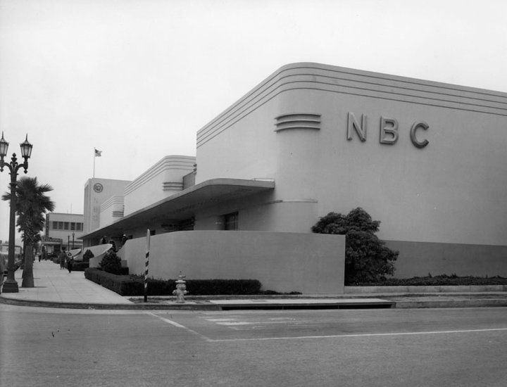 Lost Landmarks Nbc Radio City West At Sunset Vine Security Pacific National Bank Collection Hollywood Building Los Angeles History Vintage Los Angeles