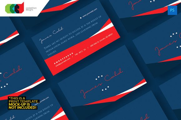 Check Out Political  Business Card  By Cooledition On Creative