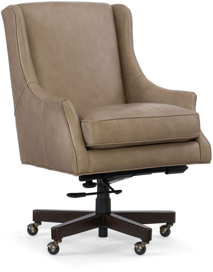 Home Office Chair, Beautiful Home Office Chair, Leather Home Office Chair, Leather  Rolling