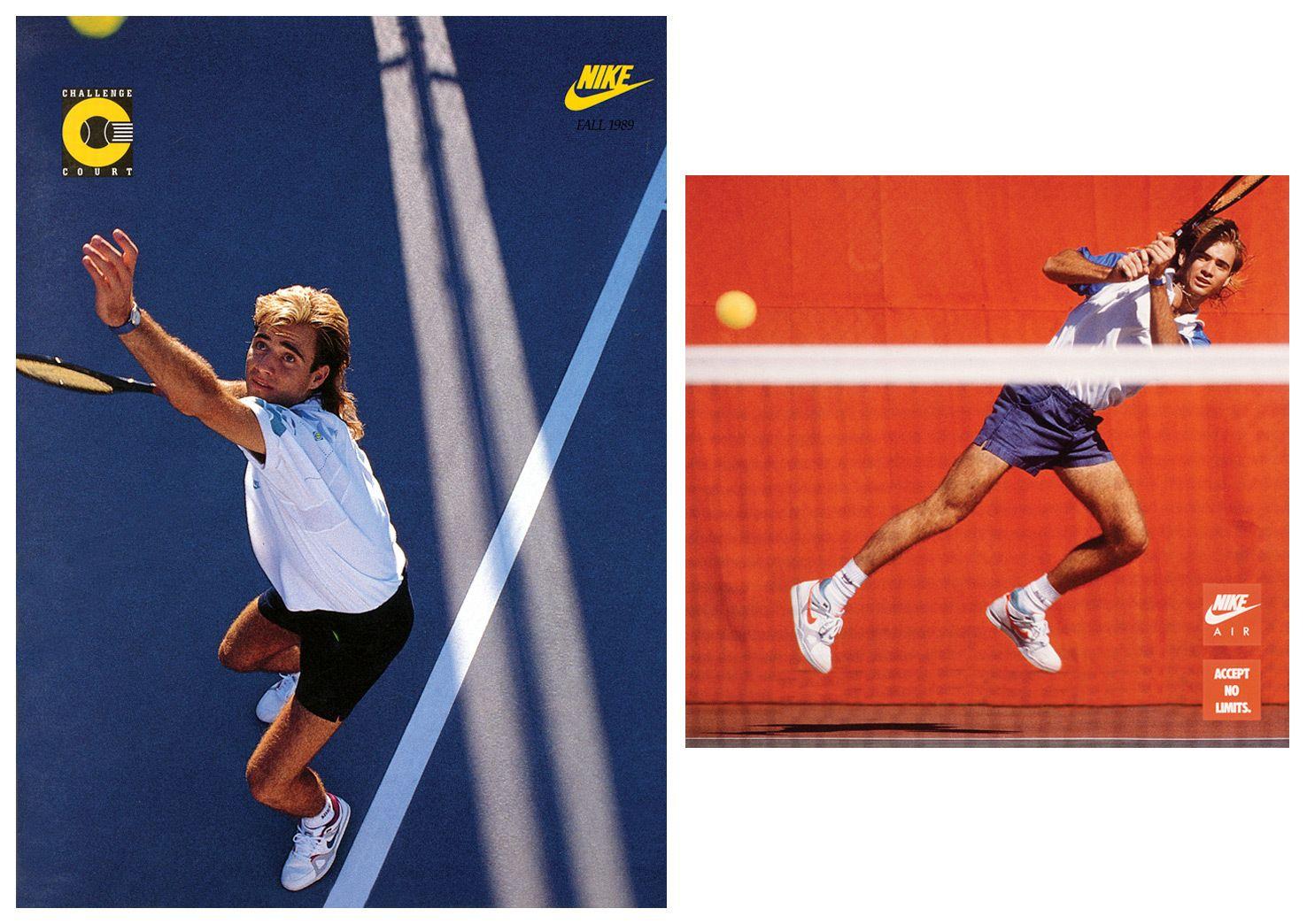 Old Nike Tennis Vintage Advert Posters Google Search