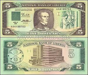 foreign currency photo gallery | Liberia - Liberian banknote pictures