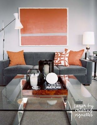 Grey Neutral Walls With Warm Accent Stonington Hc 170 Ered Yam Af 230 Sue S
