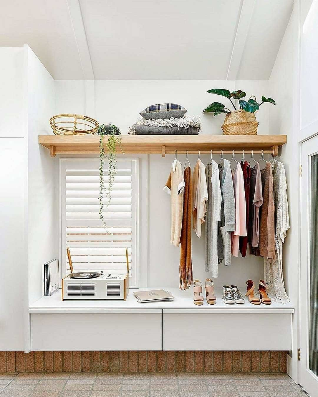10 Open Closet Ideas For Small Bedrooms Ten Catalog Closet Small Bedroom Closet Ideas For Small Spaces Bedroom Small Closet Space