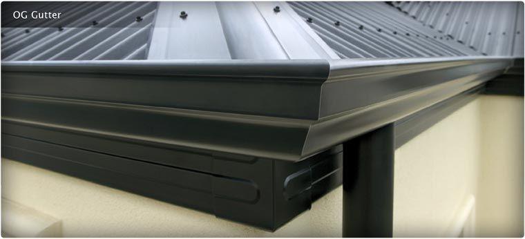 Gutters Guttering Profiles Gutter Accessories Stratco Gutters Black Metal Roof Metal Roof