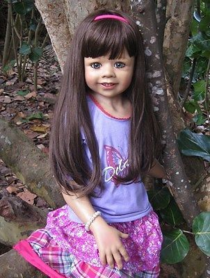 DELANEY BY MONIKA LEVENIG BRUNETTE SPECIAL EDITION MASTERPIECE DOLLS-FREE SHIP