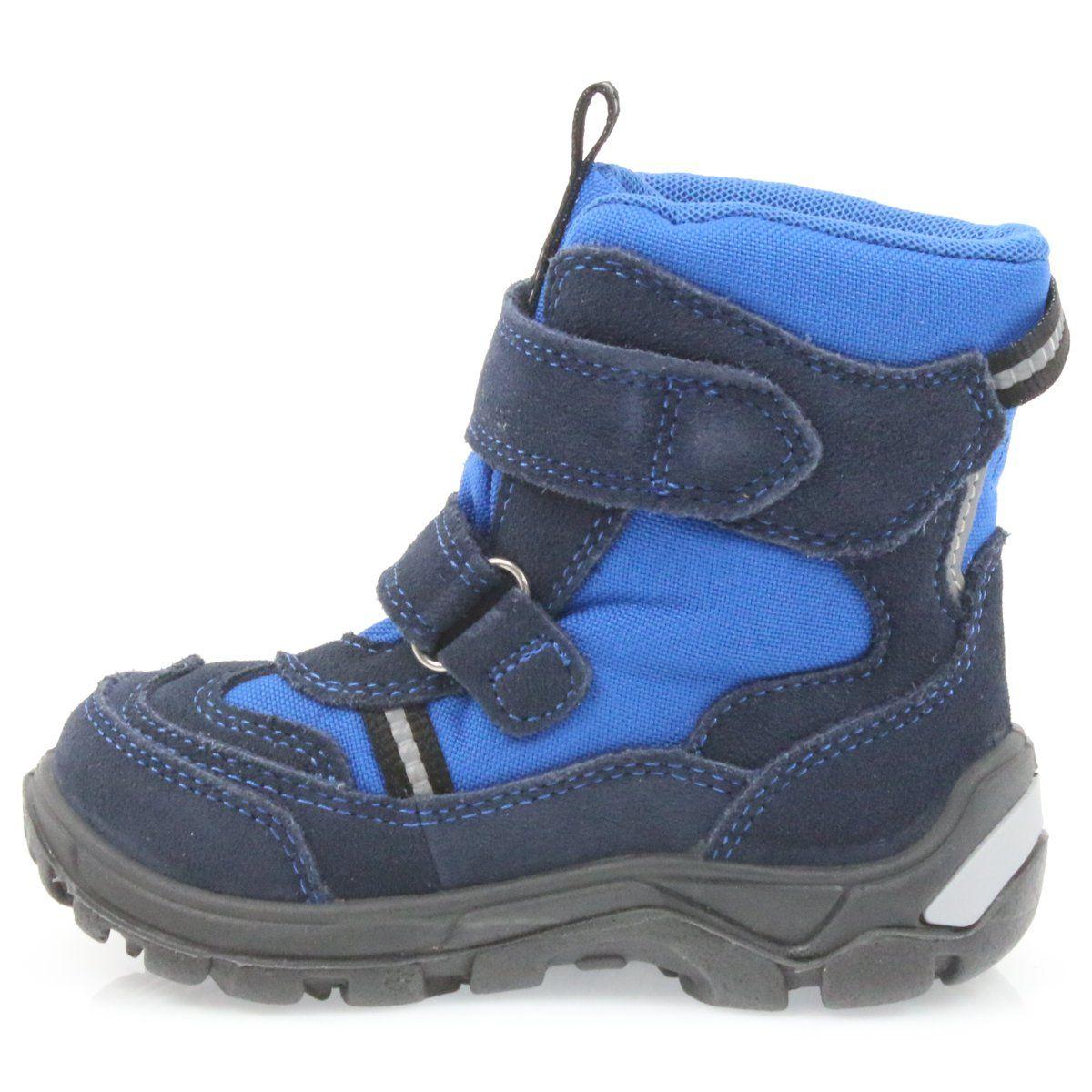 Kozaczki Z Membrana Bartek 41931 Niebieskie Granatowe Boots Shoes Winter Boot