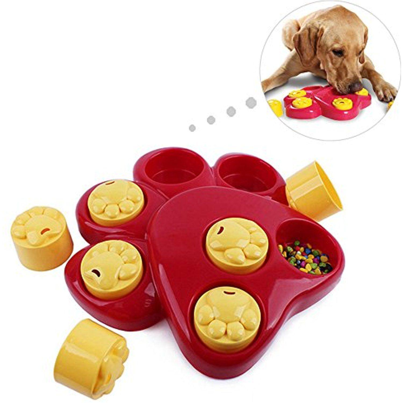 Asocea Fun Dog Food Treat Dispensing Boredom Interactive Game