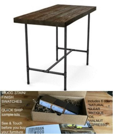 Reclaimed Wood Table Counter Height Table High Top Table Bar