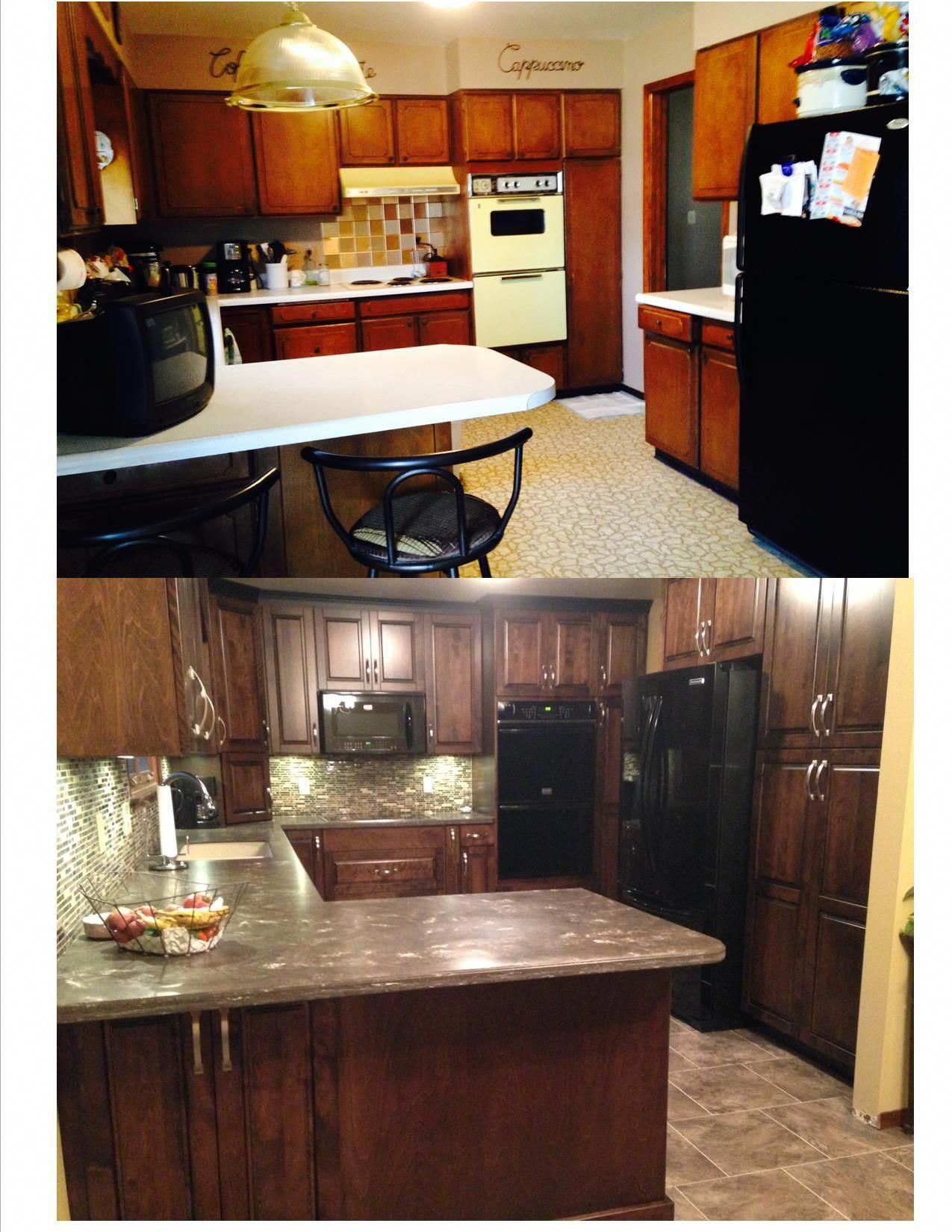 1960s Kitchen Remodel Before After: My Kitchen Remodel Before And After Pictures