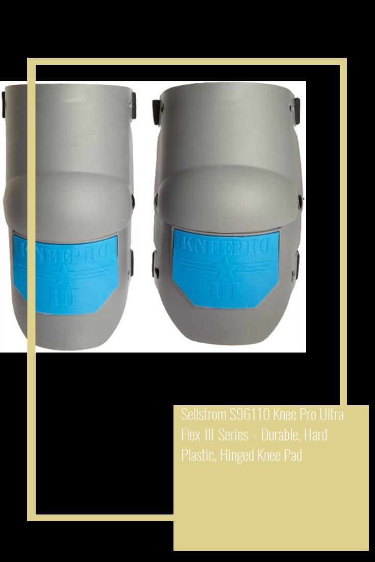 Sellstrom S96110 Knee Pro Ultra Flex III Series Durable
