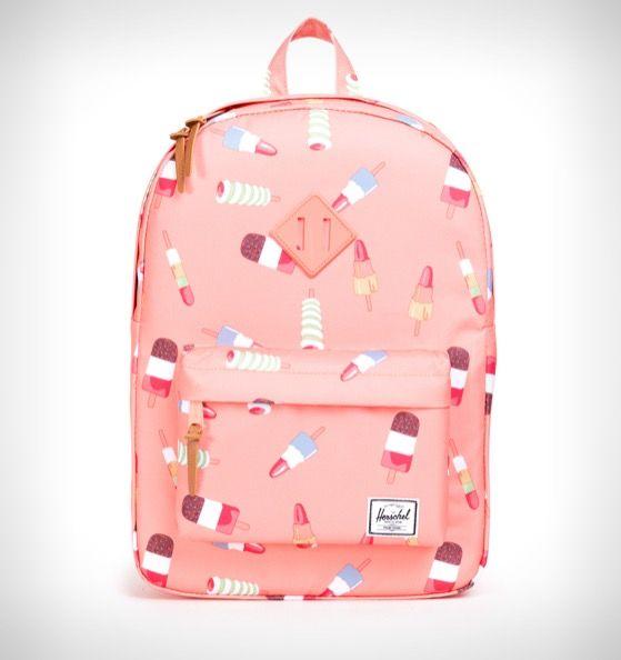 d8b804cc0ce Herschel Supply Co. Heritage Youth Backpack Popsicle Pink/Lemonade Rubber -  Rushfaster.com.au Australia