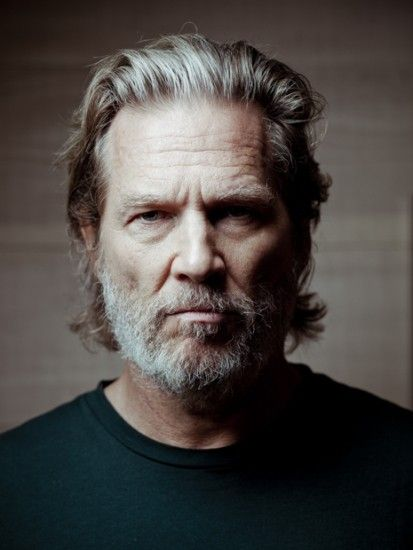 Jeff Bridges - bw photography