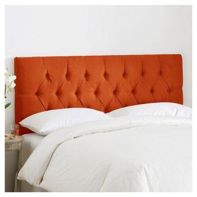 Leighton Tufted Polyester Upholstered Headboard Size: Full - http ...