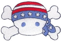 All American 14 - 2 Sizes! | What's New | Machine Embroidery Designs | SWAKembroidery.com Bunnycup Embroidery