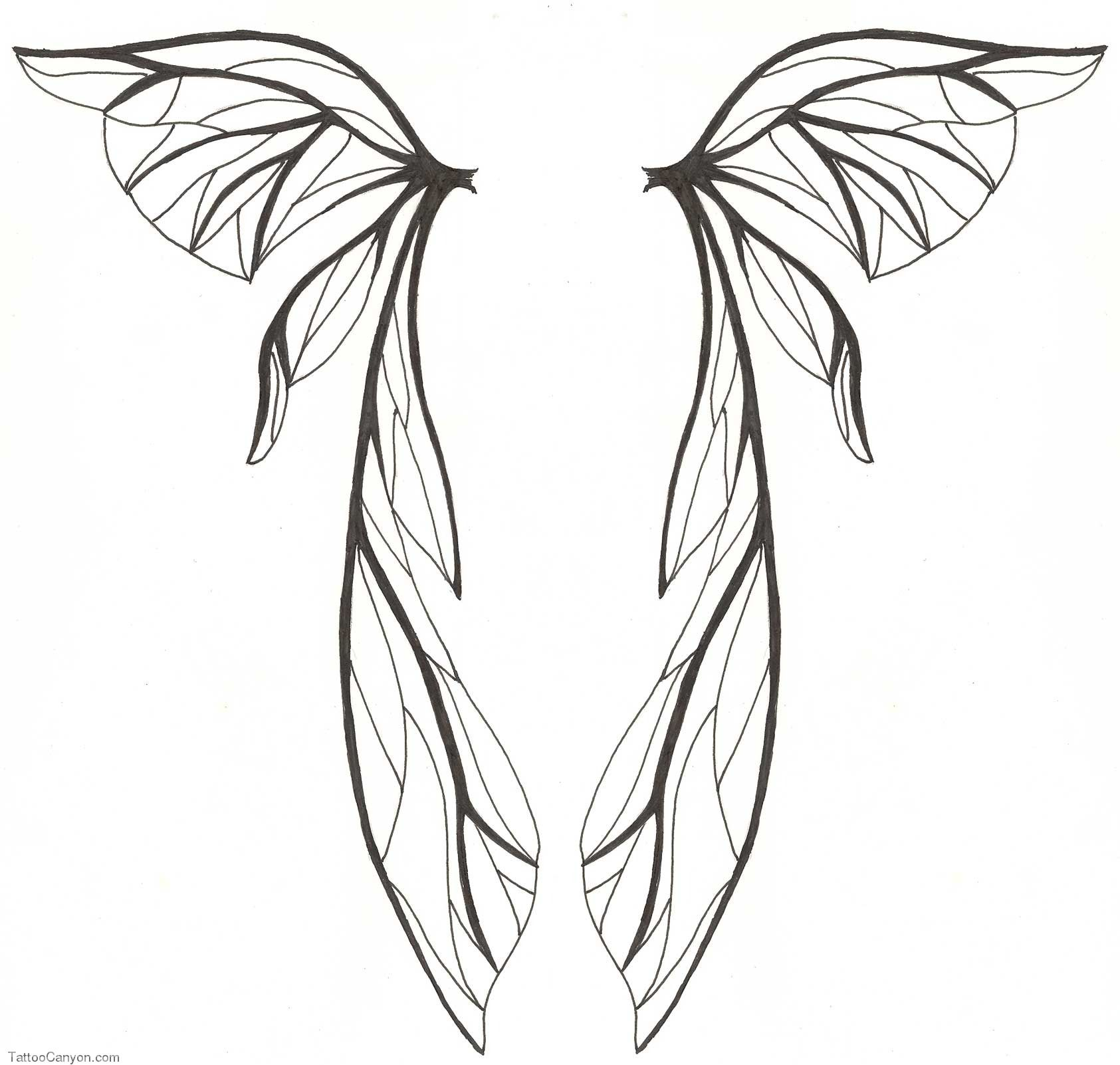 how to draw fairy wings lilzeu tattoo de picture 6107