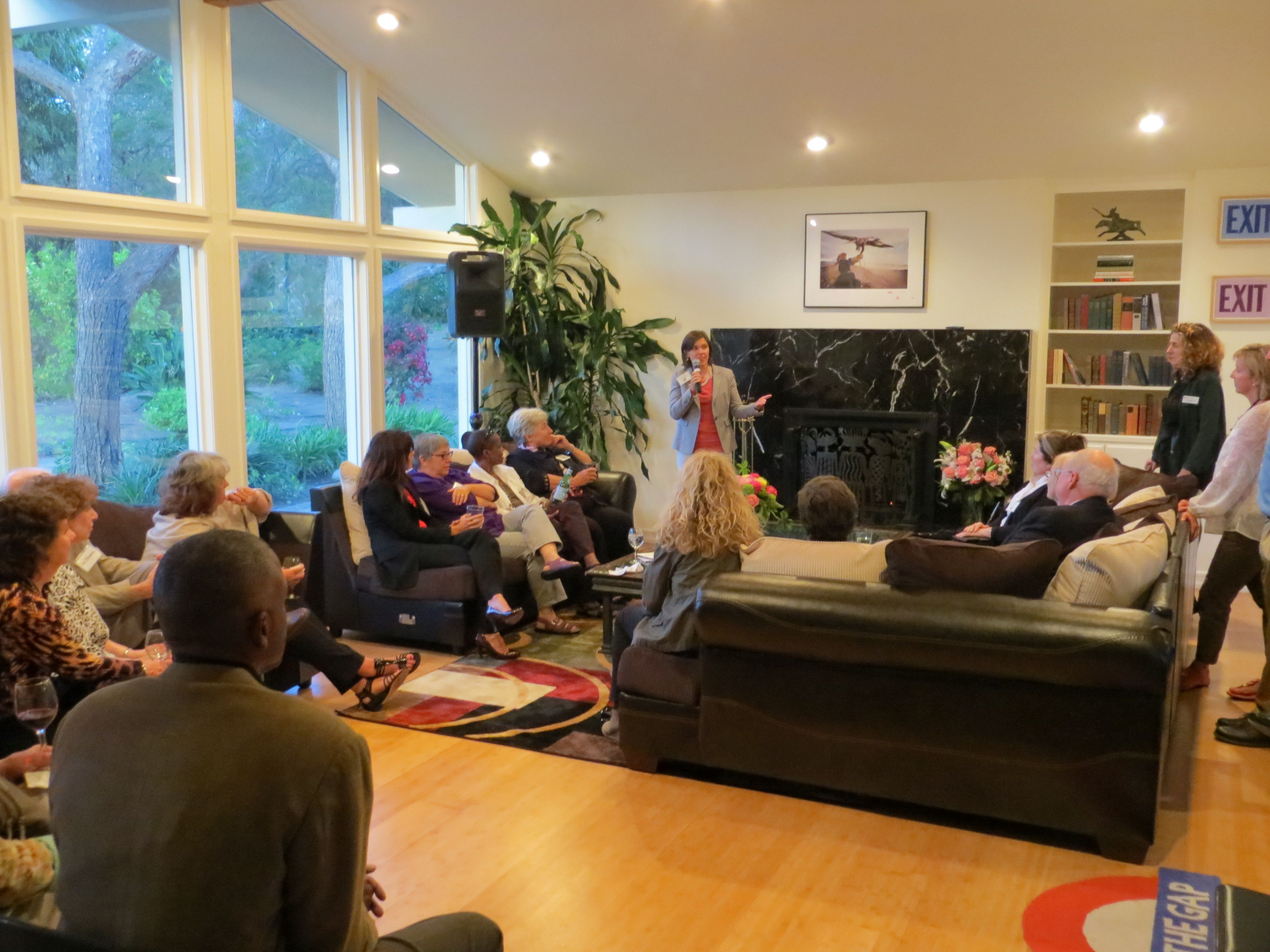 Nonprofit leadership events held at the mccune house in