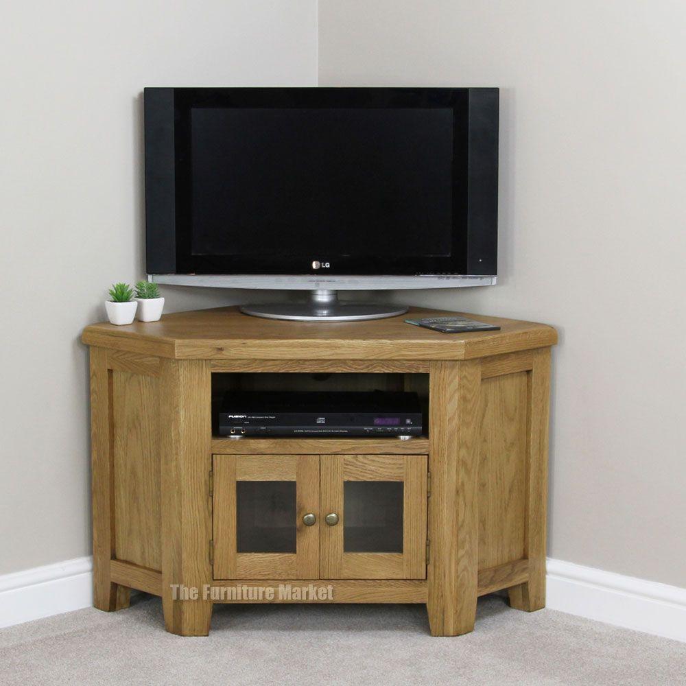 Cheshire Oak Corner Tv Unit