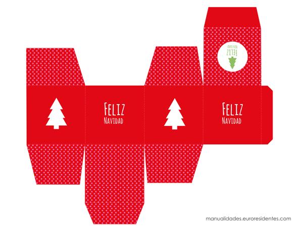 15 Cajas de Navidad para imprimir | Cajas de navidad, Cajas y ...