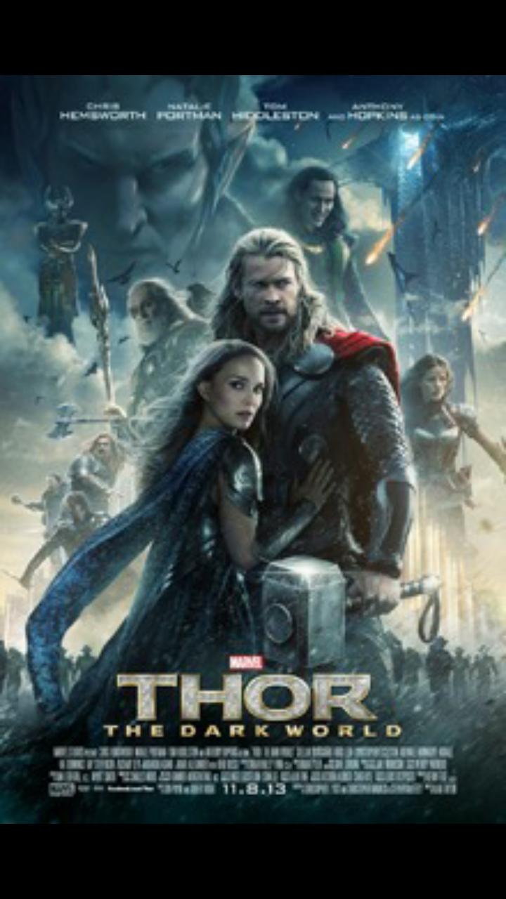 Thor The Dark World In 2020 The Dark World Marvel Movie Posters Dark Words