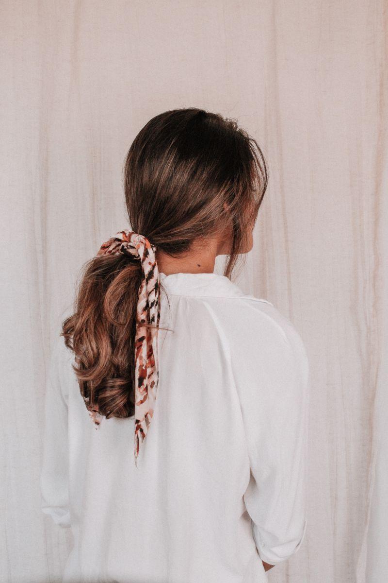 Hair Scrunchie Scarf Scarf Hairstyles Hair Scarf Styles Scrunchie Hairstyles