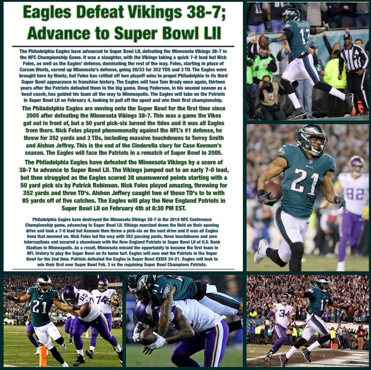 January 21 2018 Minnesota Vikings Super Bowl Julio Jones