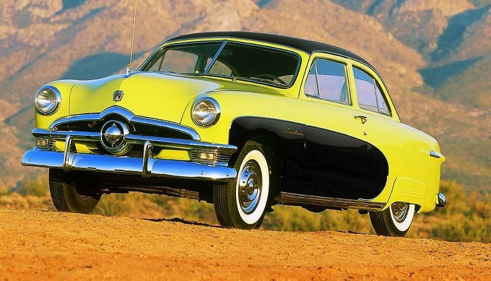 Top 100 American Collector Cars of All Time - / 1949-50 Ford ...