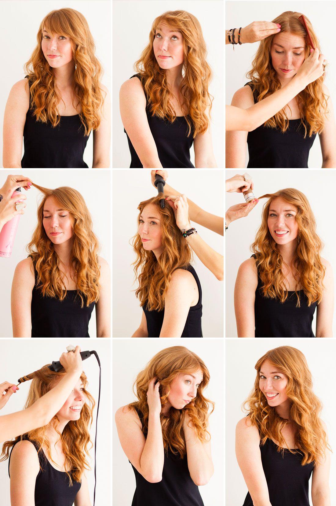 3 Genius Hair Tricks The Faux Bob Disappearing Bangs And Fishtail Headband Hair Hacks Hair Beauty Perfect Hair