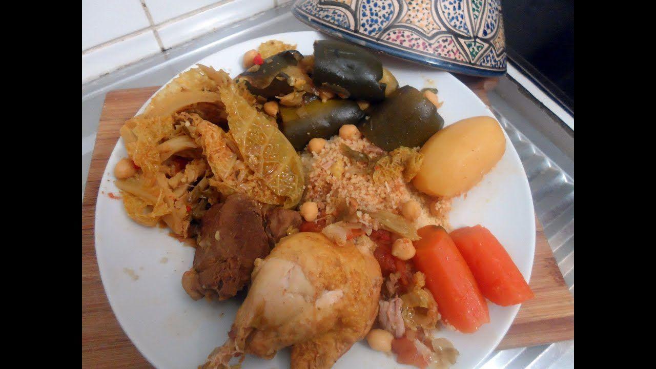 Cuisine Tunisienne Le Couscous Tunisien Youtube Cuisine