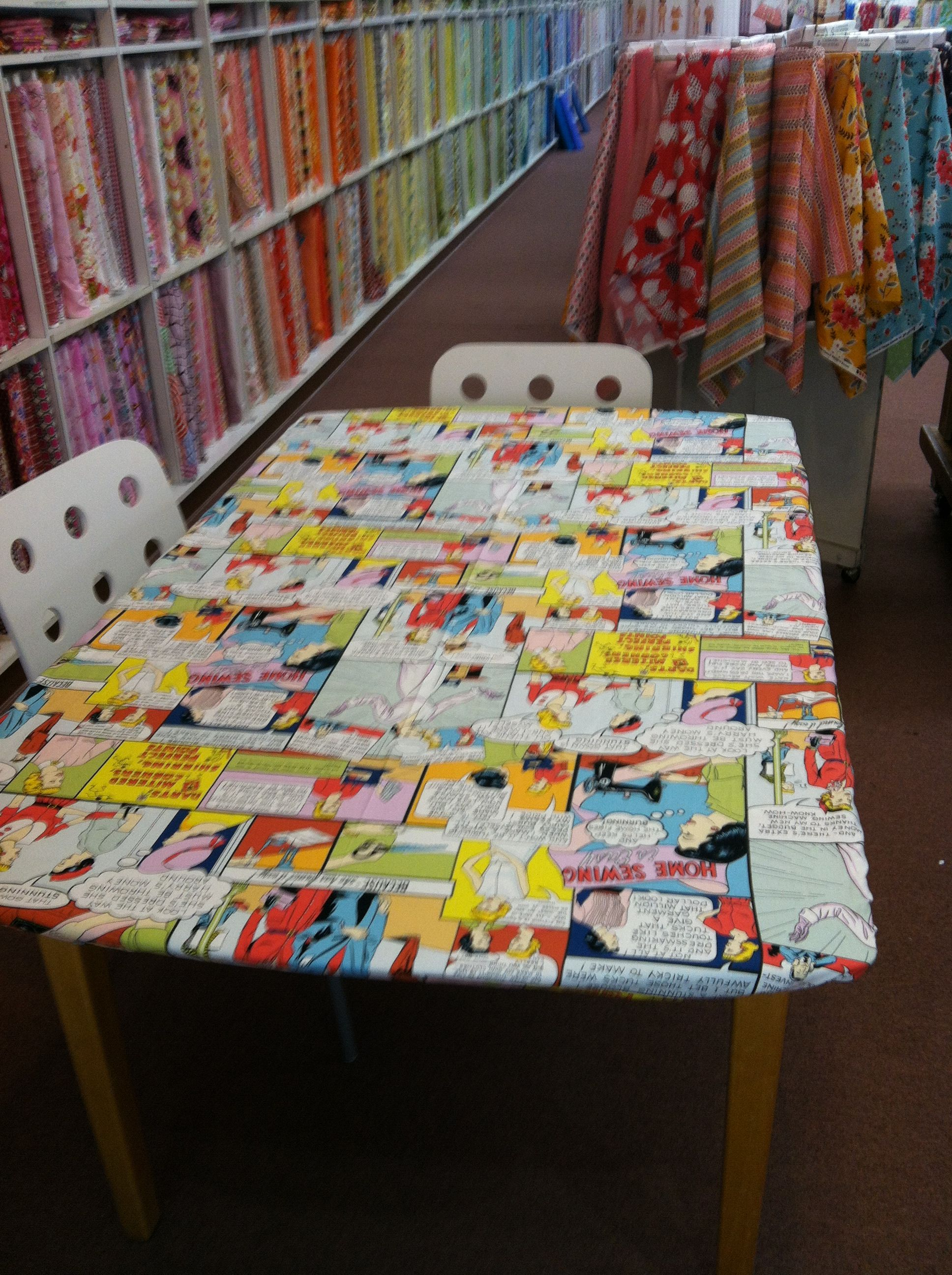 » Quick and Easy DIY Fitted Table Cover Hart's Fabric ...