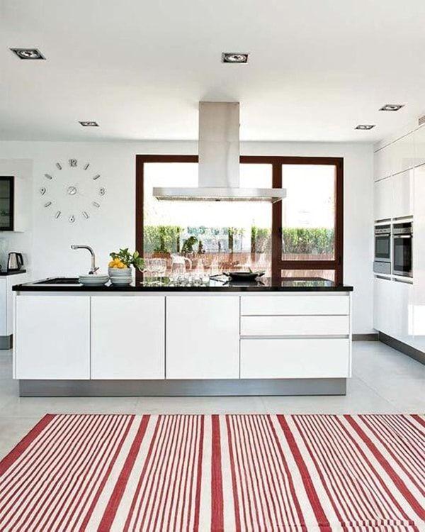 Ventanas y luz natural en cocinas Ventanales, Luz natural y Cocinas - cocinas grandes de lujo