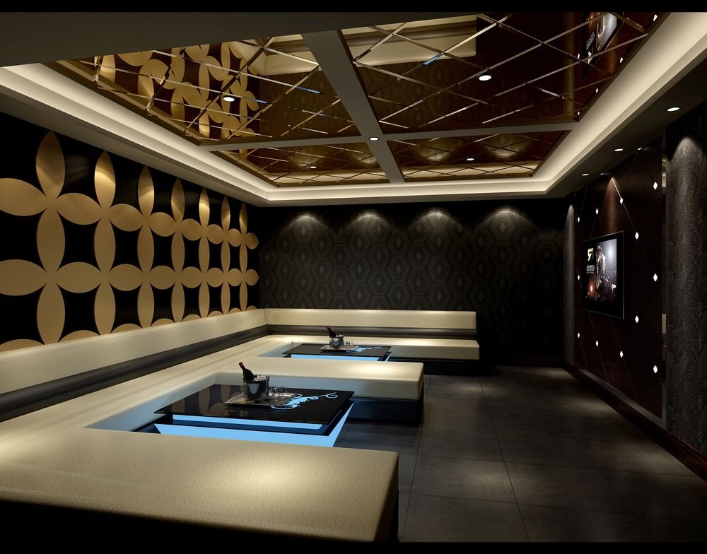 Young and creative karaoke room design in china for Karaoke room design ideas