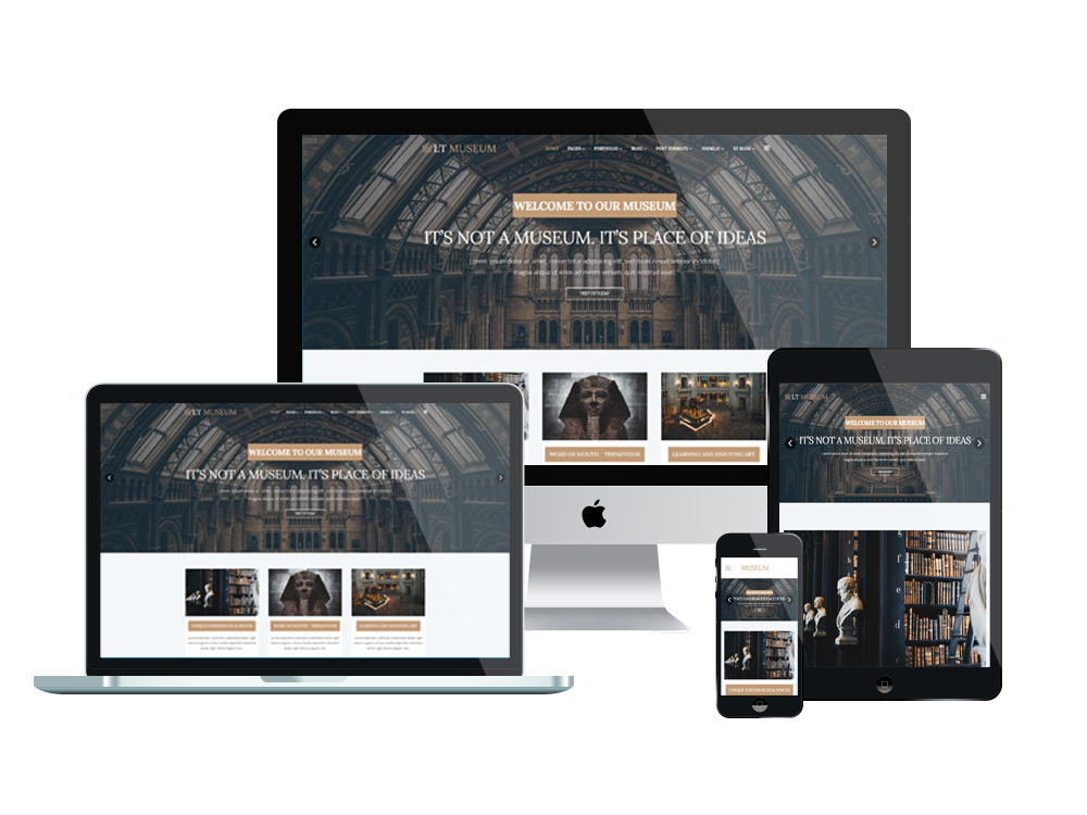 LT Museum is a cutting edge and expert Museum Joomla Template which ...