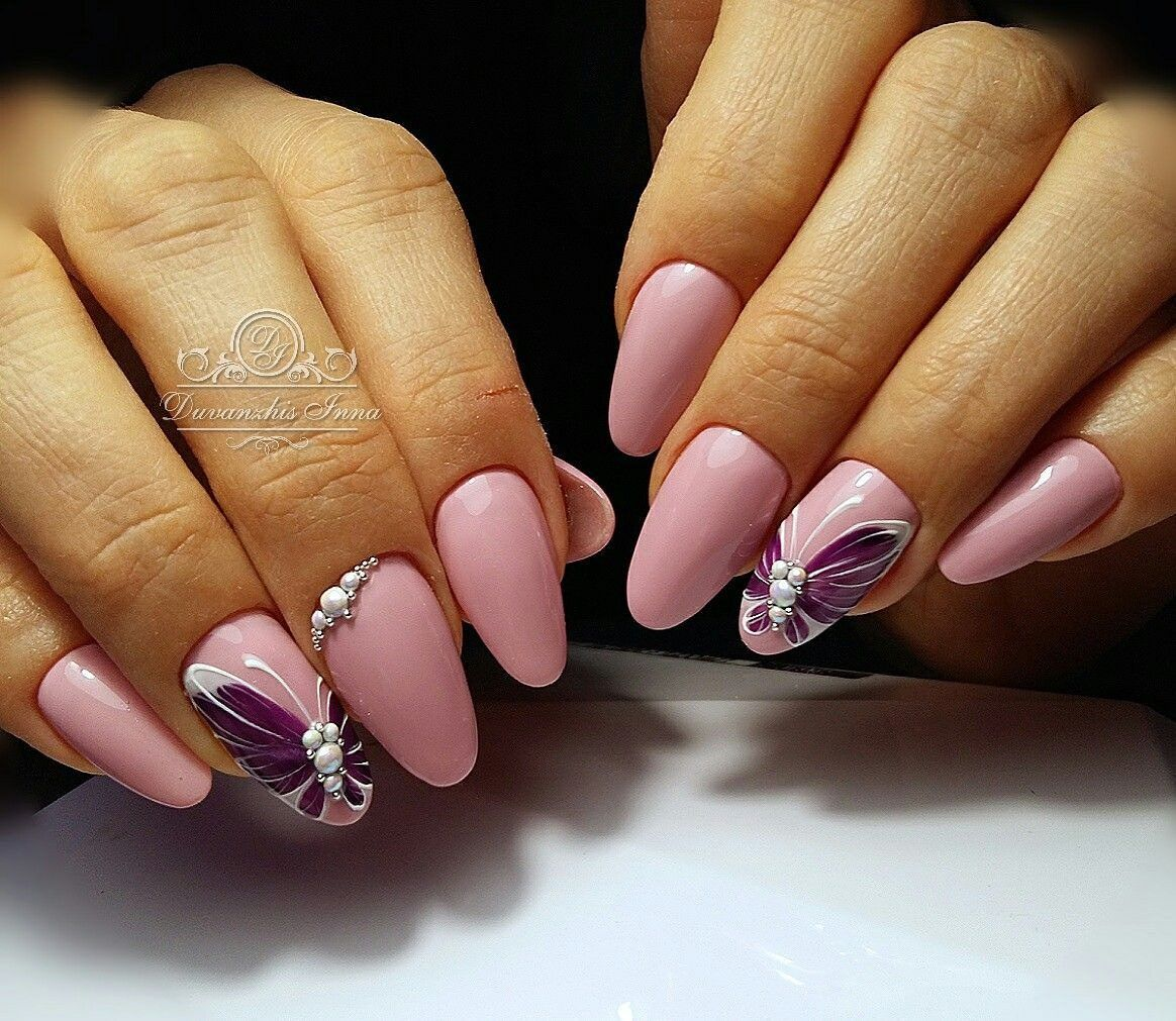 57) Одноклассники | Ногти | Pinterest | Manicure, Flower nail art ...
