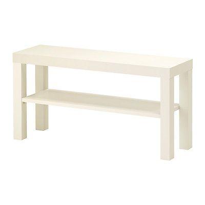 Ikea Fernsehtisch weiss TV-Regal Wohnzimmerregal 90 x 26 cm - wohnzimmer regal weis