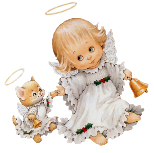 Cute Angel Clip Art | Gallery Free Clipart Picture… Angels PNG ...